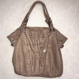 Faux Leather Shoulder Purse/Work Bag